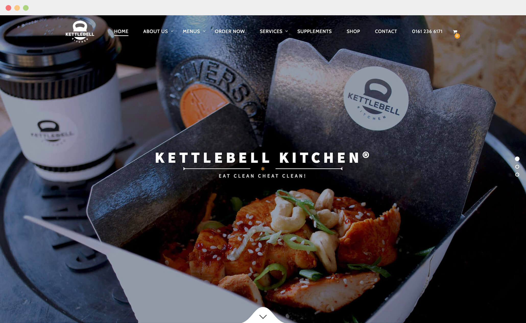 Kettlebell Kitchen website
